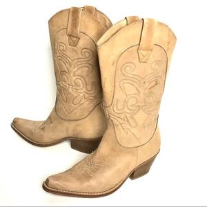 Cowboy Boots Penny Loves Kenny Leather Western